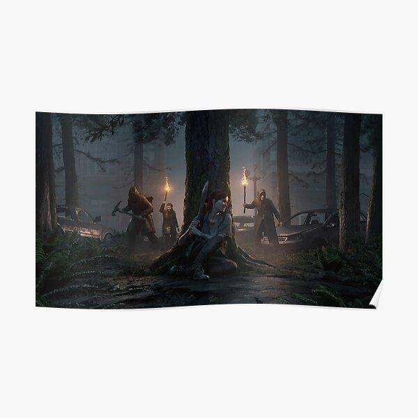 The Last Of Us: Part II - Dark Theme Poster