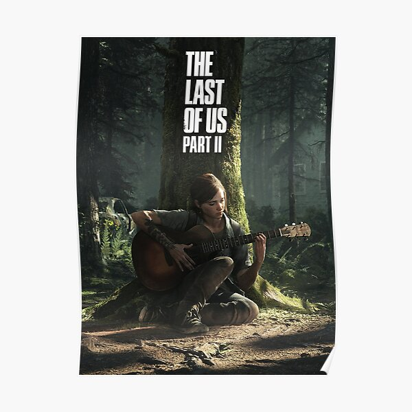 The Last Of Us: Part II - Light Theme with Logo Póster