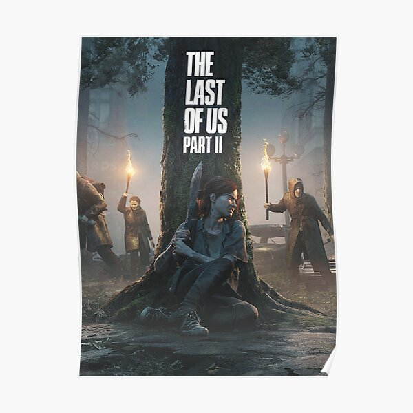 The Last Of Us: Part II - Dark Theme with Logo Póster