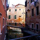 Laundry, Venice Canal by Barbara Wyeth