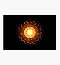 Fire Flower Photographic Print