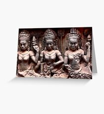 Apsara  Greeting Card
