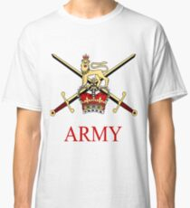 British Army Crest Classic T-Shirt