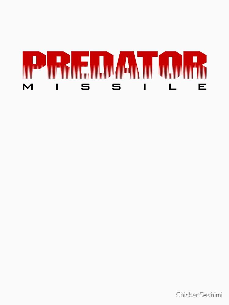Predator Missile by ChickenSashimi