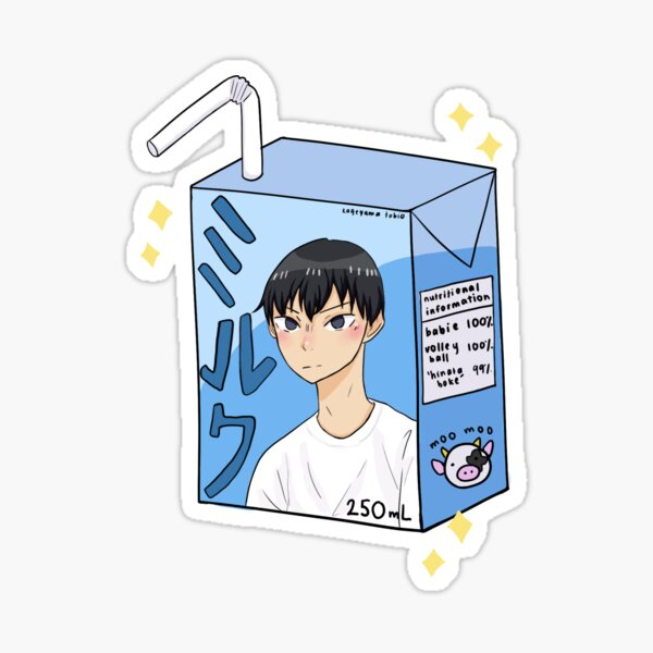 kageyama milk Sticker