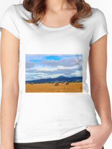 Farmlands Women's Fitted Scoop T-Shirt