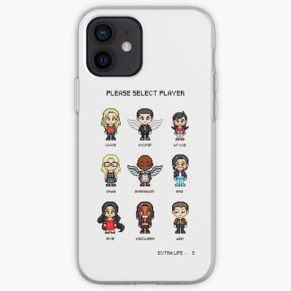 Pixel Lucifer Coque souple iPhone