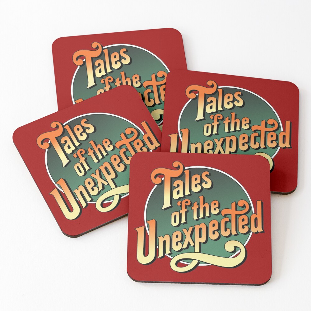 Tales of the unexpected Coasters (Set of 4)