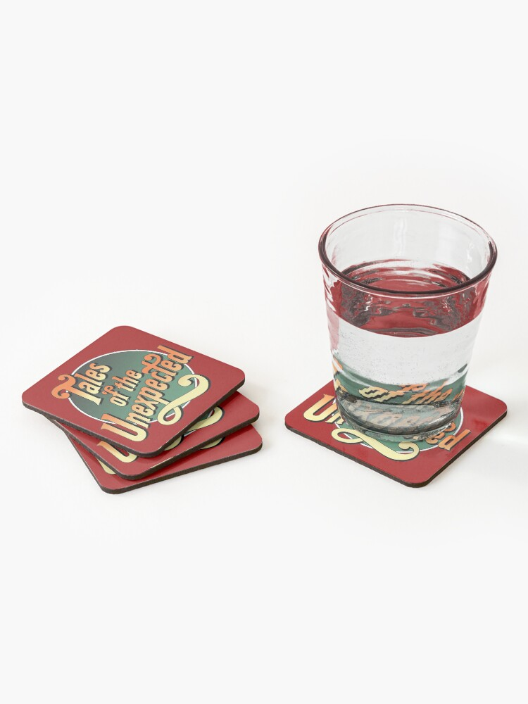 Alternate view of Tales of the unexpected Coasters (Set of 4)