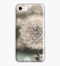 Dandelion in a Jar iPhone Case/Skin