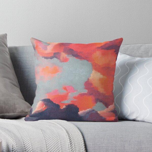 Dragon Skies #1 Throw Pillow