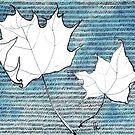White Leaves by Aleksandra Kabakova