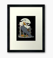 Halloween Nouveau Framed Print