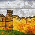 Lincoln Castle, Lincoln, UK  by David Carton