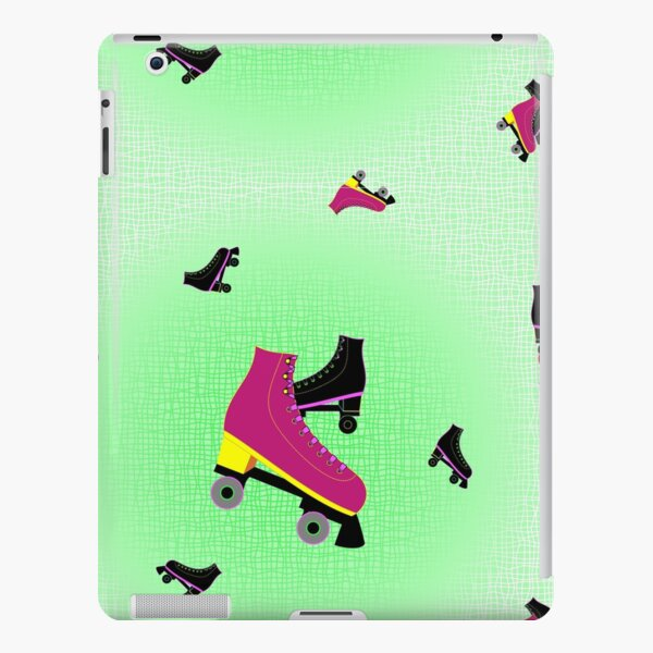 Roller Rink Collection Spring Seamless Surface Pattern iPad Snap Case
