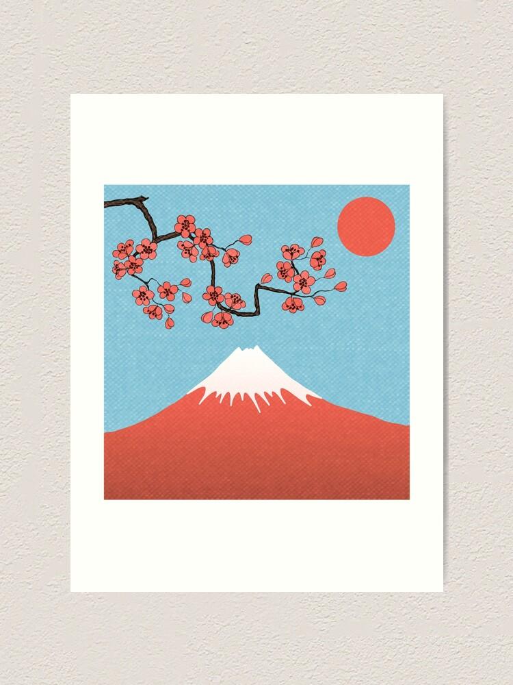 Vista alternativa de Lámina artística Sakura Cherry Blossom