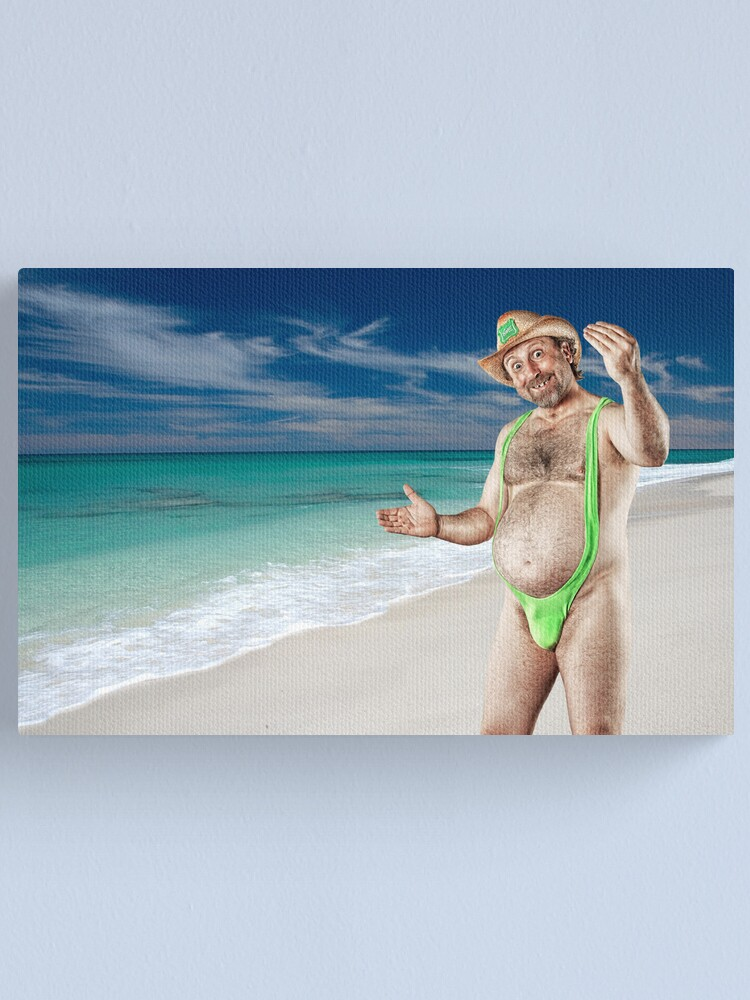 Alternate view of Mr November - Welcome to Paradise. Canvas Print