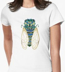 Cicada Women's Fitted T-Shirt