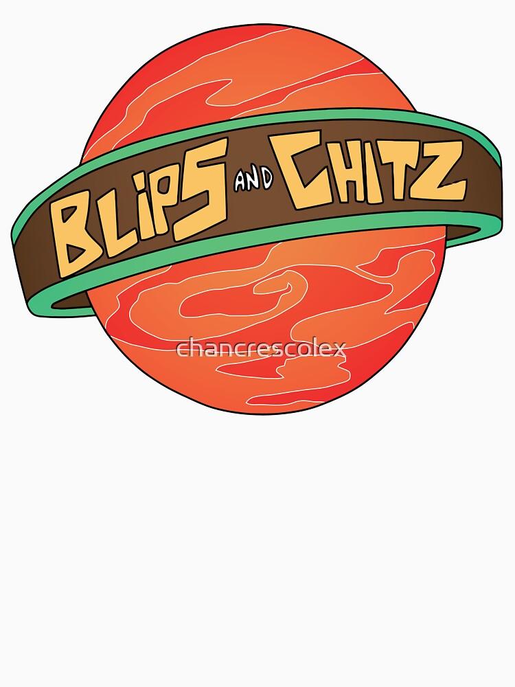 Rick & Morty - Blips and Chitz | Unisex T-Shirt