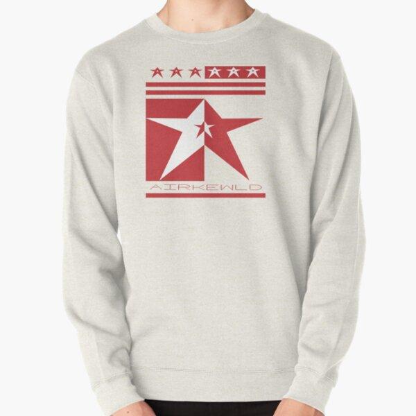 Airkewld StaR RED Logo Pullover Sweatshirt
