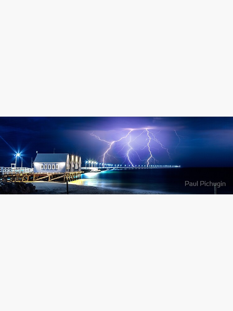 Busselton Jetty Lightning by paulmp