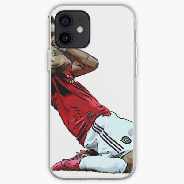 Bruno Fernandes Power Slide Celebration iPhone Soft Case