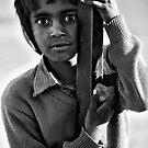 Boy Portrait  by Mark Smart
