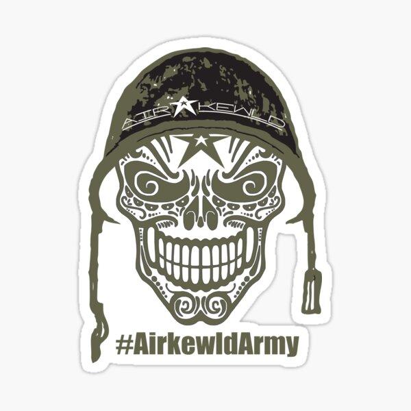 Airkewld Army Sticker