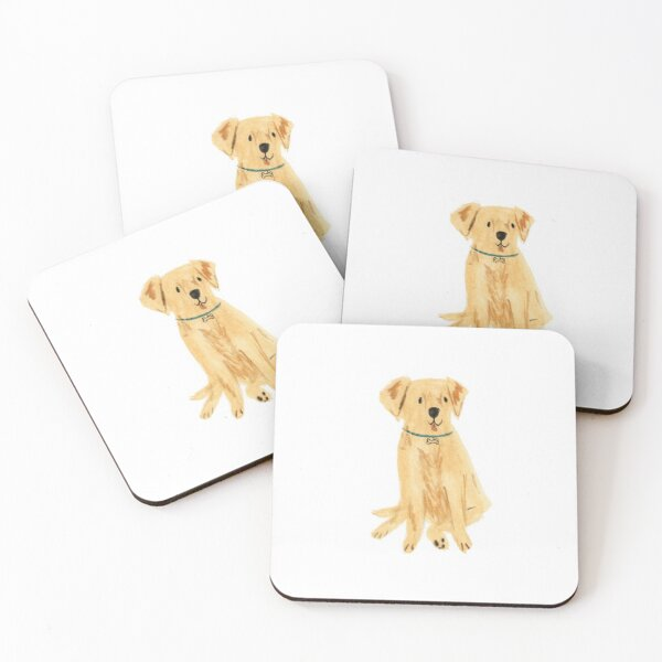 Labrador Coasters (Set of 4)