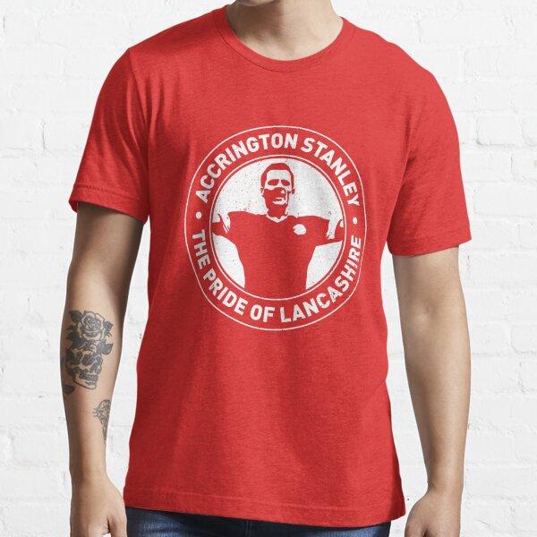 Pride Of Lancashire - Worn Effect Essential T-Shirt