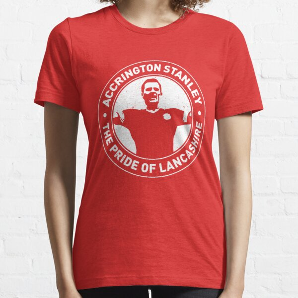 Pride Of Lancashire - Worn Effect Essential T-Shirt