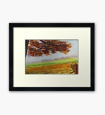 High Country Meadow Framed Print