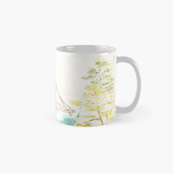 Girl on a swaing Classic Mug