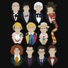 The Eleven Doctors  by Tom Trager