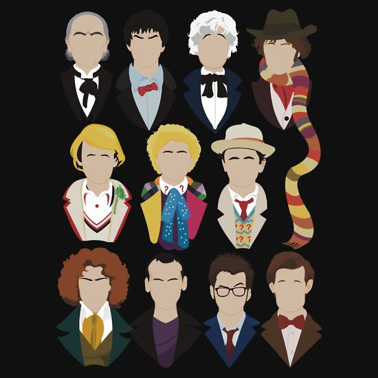TShirtGifter presents: The Eleven Doctors