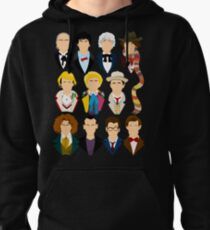 The Eleven Doctors  Pullover Hoodie