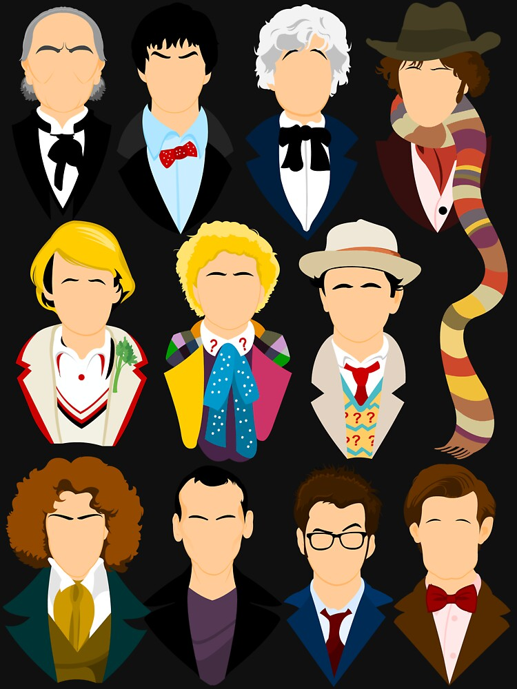 The Eleven Doctors  by TomTrager