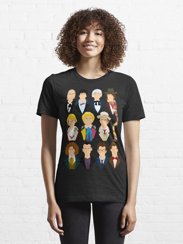 Alternate view of The Eleven Doctors  Essential T-Shirt