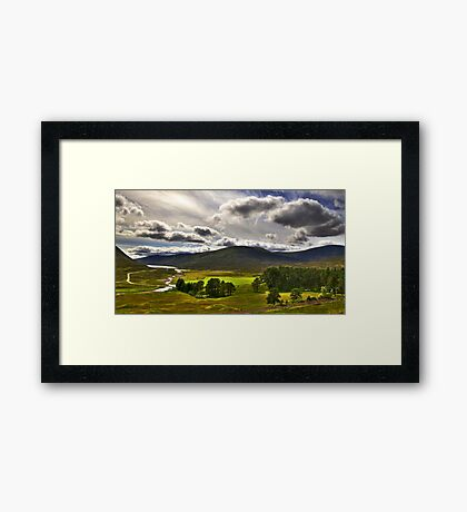 View from Drumochter Pass Framed Print