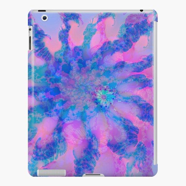Fractalize storm clouds of flower petals iPad Snap Case