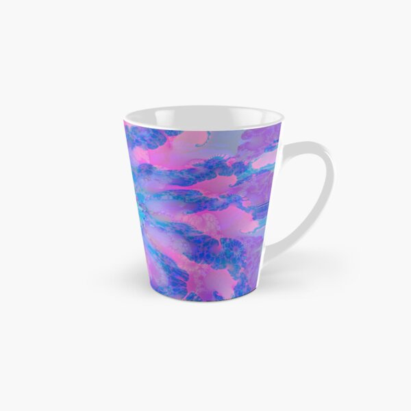 Fractalize storm clouds of flower petals Tall Mug