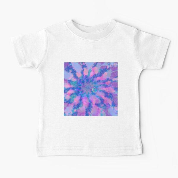Fractalize storm clouds of flower petals Baby T-Shirt