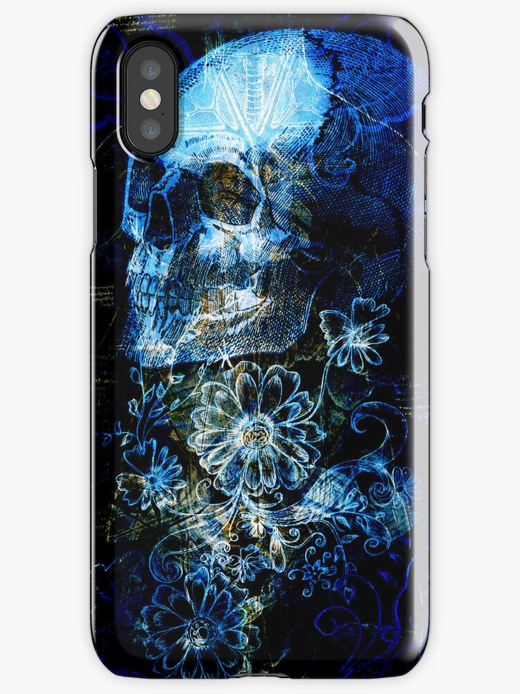 Skull and Flowers 3 by lab80