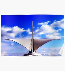 MAM...Milwaukee Art Museum © Poster