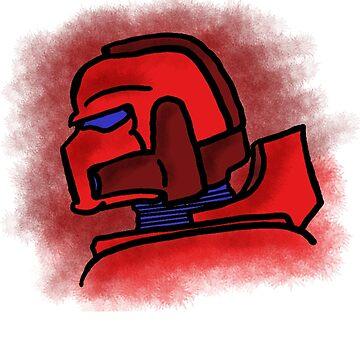 Blood Marine by WarpDustDesign