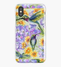 Hummingbird Duo iPhone Case