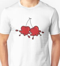 Splat! Cute Cheeky Cherries T-Shirt