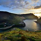 Cornwall: October Sunset at Boscastle by Rob Parsons (AKA Just a Walker with a Camera)