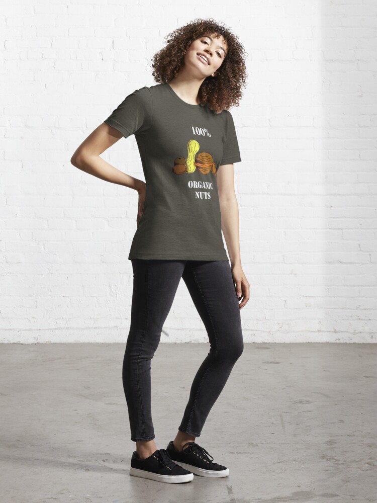 Alternate view of Organic nuts... Essential T-Shirt