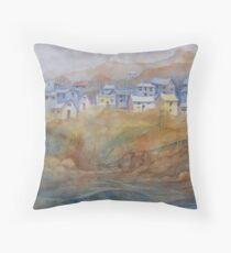 Memories of St. John's (Newfoundland, Canada) Throw Pillow